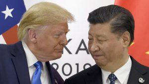 習近平国家主席とトランプ大統領(提供:AP/アフロ)