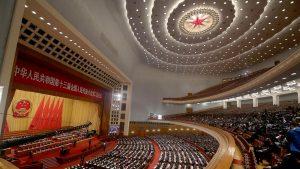 5月22日に開幕する全人代の会場(写真:ロイター/アフロ)