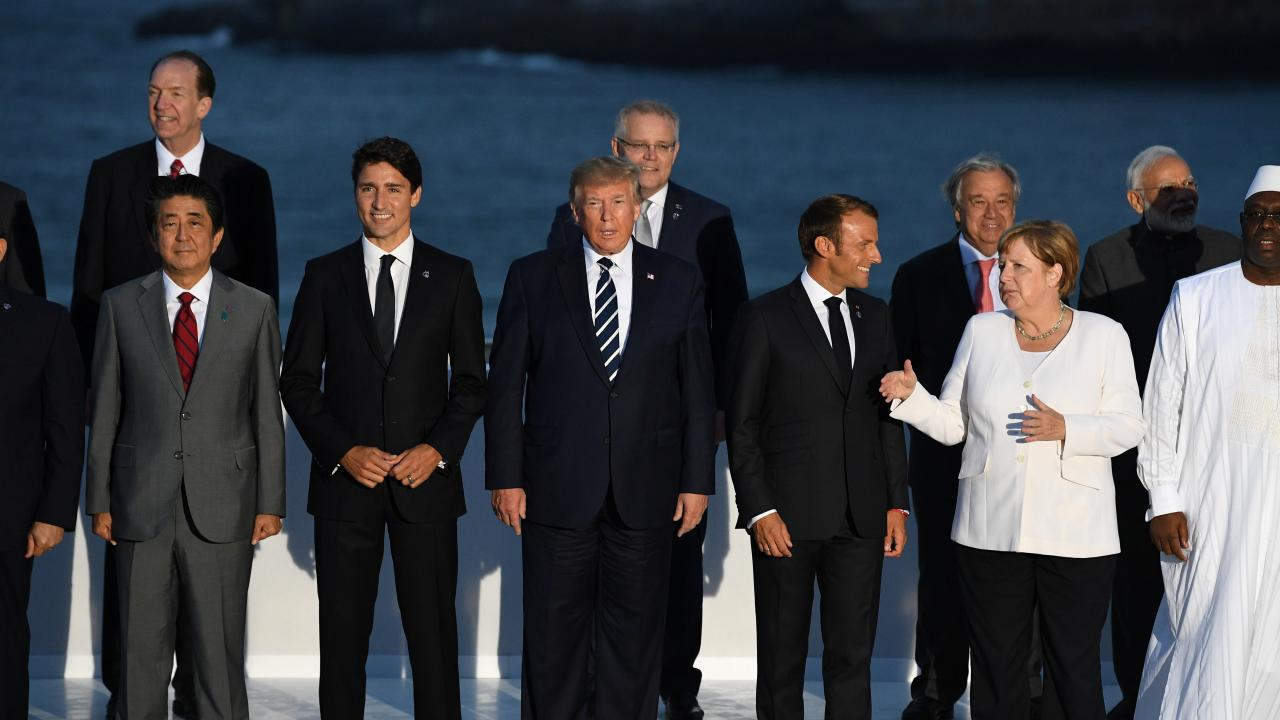 G7 summit in Biarritz, France, August 25, 2019