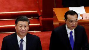 中国人民政治協商会議 第13期第3回会議における習近平国家主席と李克強国務院総理(写真:ロイター/アフロ)