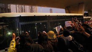 香港デモ裁判 民主活動家らに量刑言い渡し(写真:ロイター/アフロ)