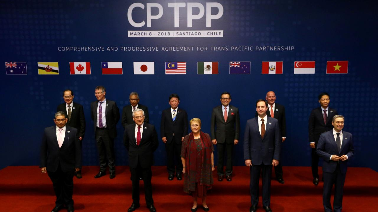 Representatives of members of Trans-Pacific Partnership (TPP) trade deal in Santiago, Chile March 8, 2018. REUTERS/Ivan Alvarado (Chile)