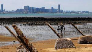 第2次台湾海峡危機から60年(写真:ロイター/アフロ)
