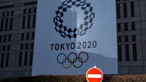 2021年に延期された東京五輪(写真:アフロスポーツ)