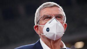 IOCのバッハ会長「コロナで選手が死んでも私のせいではない。自己責任だ」(写真:長田洋平/アフロスポーツ)