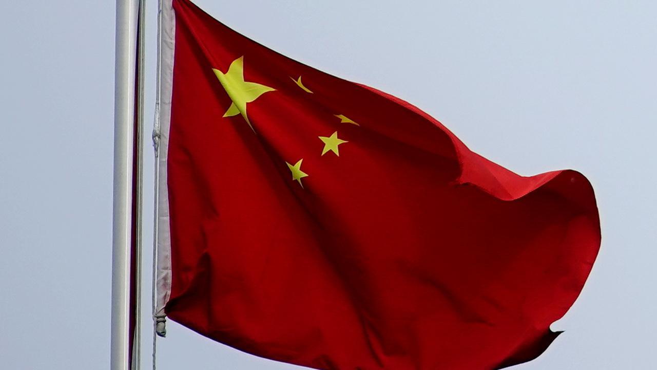 中国の国旗(写真:ロイター/アフロ)