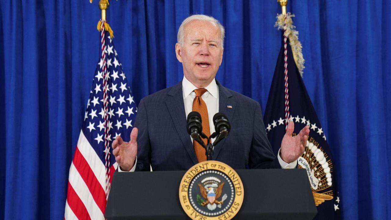 U.S. President Joe Biden (Photo provided by:ロイター/アフロ)