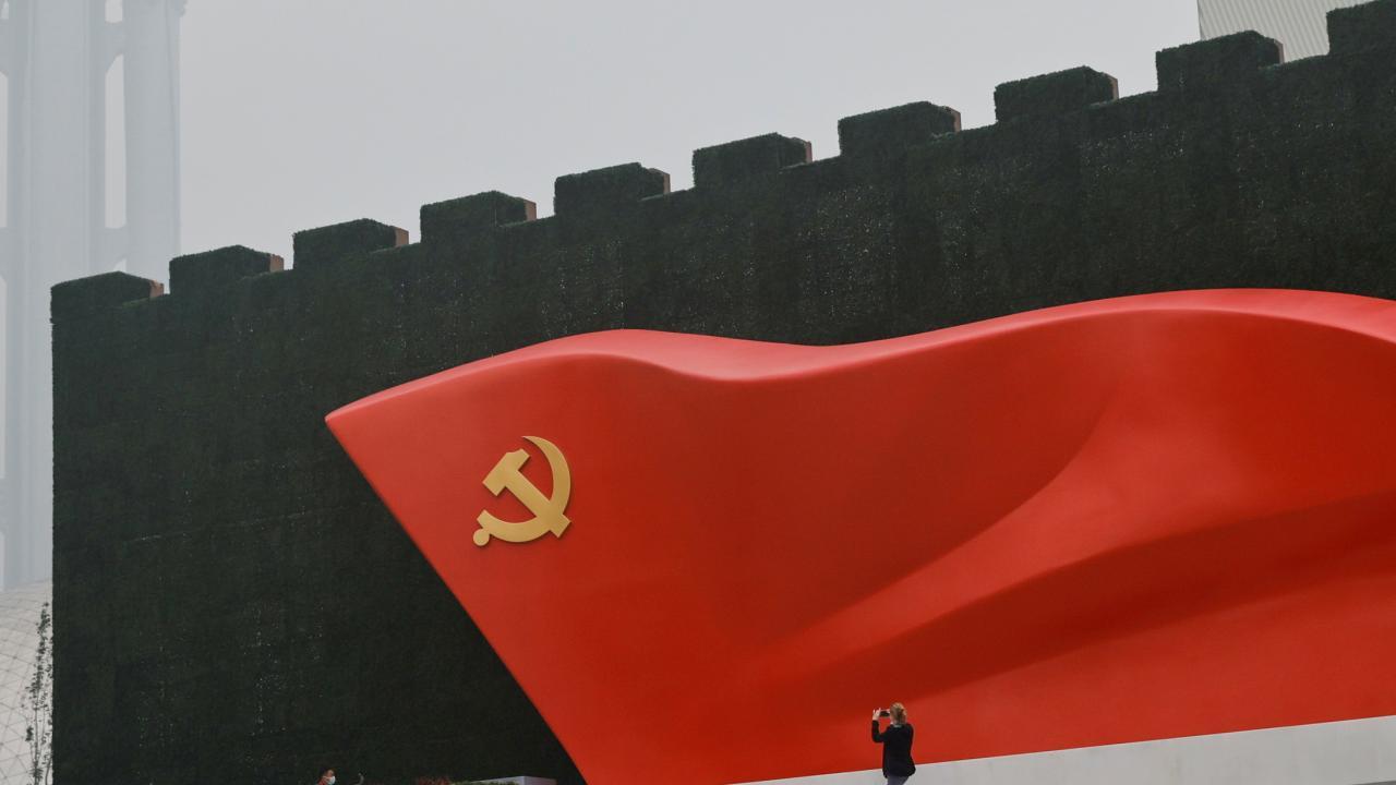 7月1日に建党100年を迎える中国共産党(写真:ロイター/アフロ)