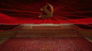 中国共産党100周年祝賀文芸公演(写真:AP/アフロ)