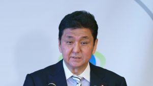 日本防衛大臣(写真:Motoo Naka/アフロ)