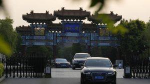 シャーマン国務副長官が天津で王毅外相らと会談(写真:AP/アフロ)