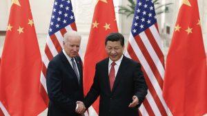 2013年、バイデン副大統領が訪中し習近平国家主席と会談(写真:ロイター/アフロ)