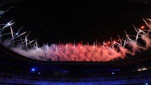 東京2020 閉会式(写真:青木紘二/アフロスポーツ)