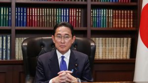 2021自民党新総裁に選出された岸田文雄氏(写真:代表撮影/ロイター/アフロ)