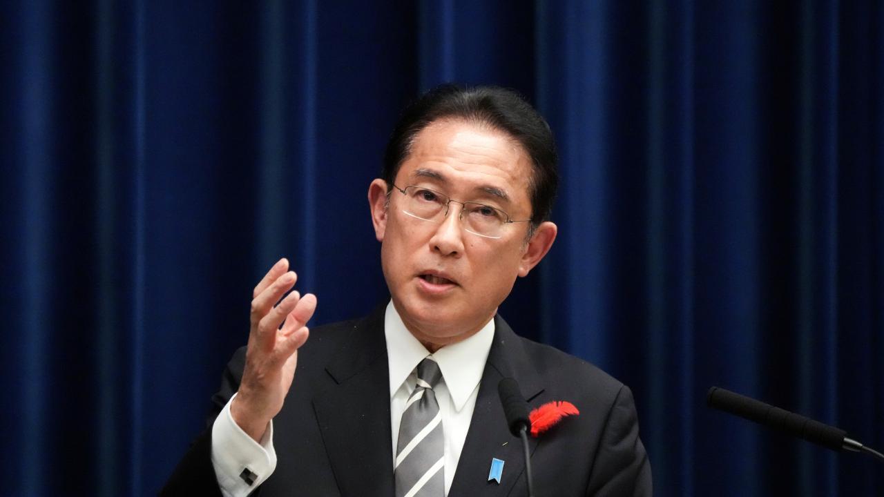 岸田文雄首相(写真:代表撮影/ロイター/アフロ)