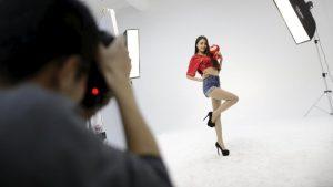 創られる中国のアイドル(写真:ロイター/アフロ)